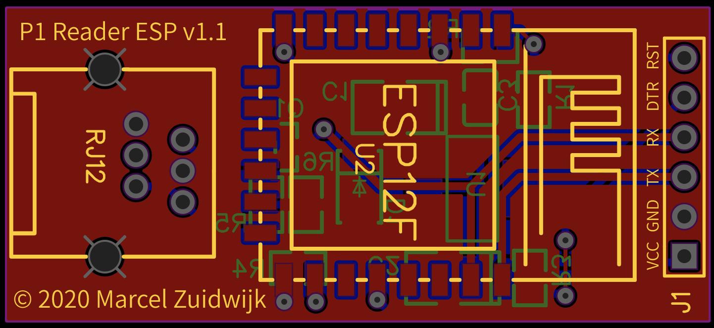 P1 ESP8266 adapter